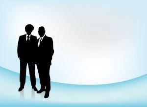 Business men by Jan Willem Geertsman