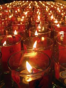 Candles by michiru
