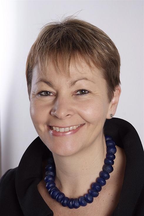 Caroline Lucas portrait