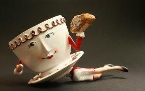 Coffee lady by Pambot