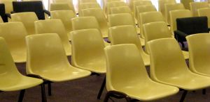 Empty Chairs at presentation