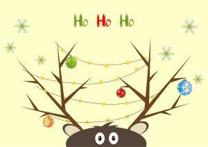 Funny Reindeer by Tinneketin