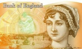 Jane Austen on banknote