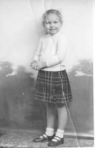 Jane aged 4