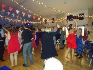Mad wedding dancing