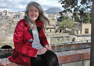 Mary Beard courtesy of BBC