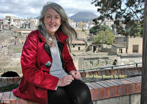 Mary Beard courtesy of BBC