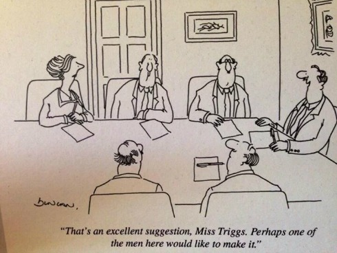 Miss Triggs cartoon
