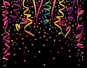 Party streamers by Ba1969