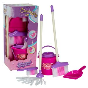 Pink cleaning set