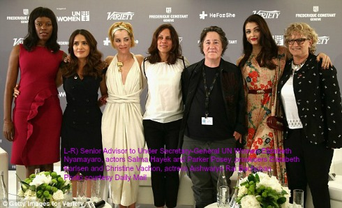 Salma and daily mail pic