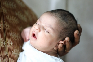 baby sleeping by k r anoop