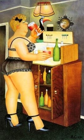 drinkies by Beryl Cook