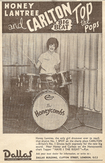 honeycarltondrums