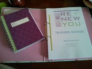 trainers manual and journal