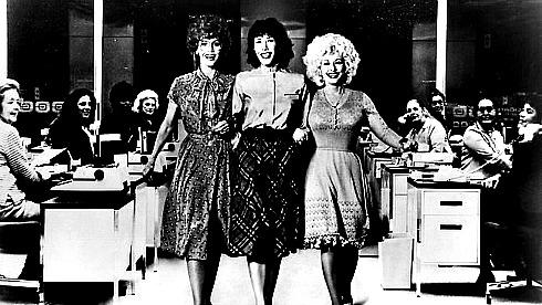 women supporting women. Still from 1980 film 9 to 5